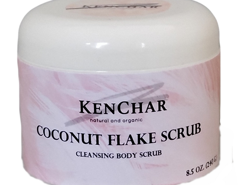 Coconut Flake Body Scrub