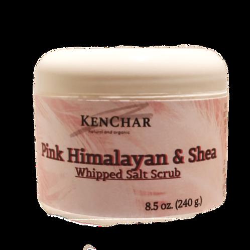 Pink Himalayan Shea & Salt Scrub