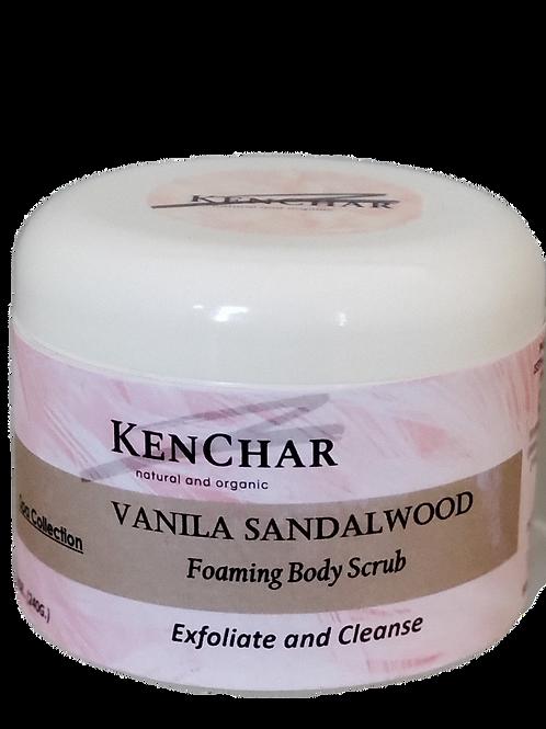 Vanilla Sandalwood Scrub