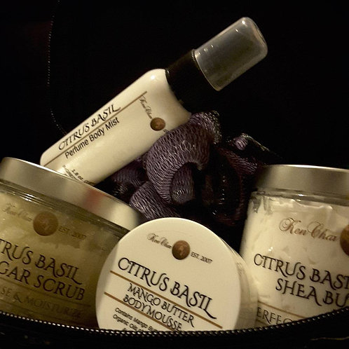 Citrus Basil Travel Set