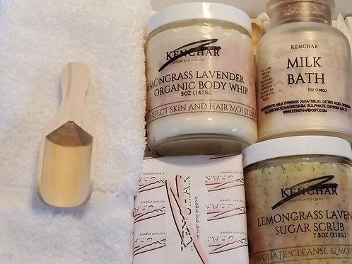 Lemongrass Lavender Luxury Box