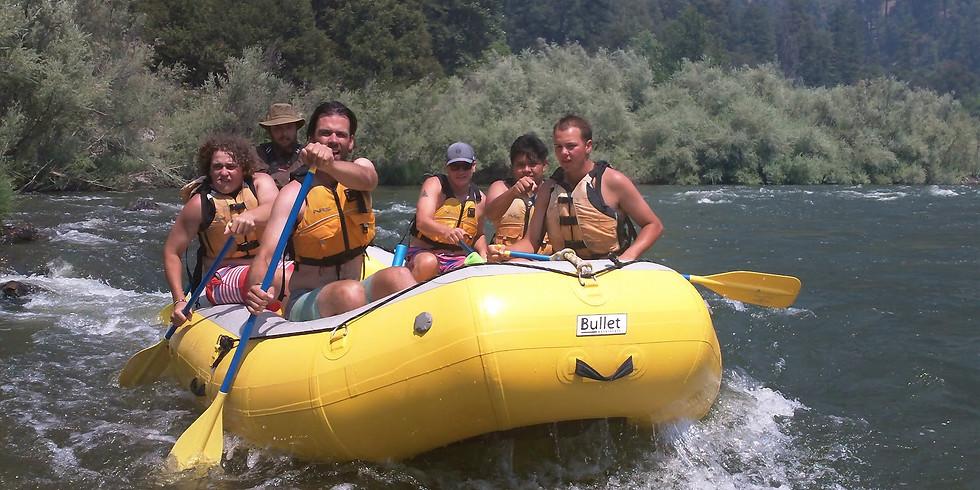 CGF Whitewater Rafting Retreat