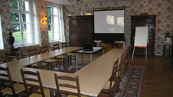 la salle de seminaires tout equipee pour vos reunions, evenements familiaux...
