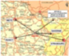 Alteville occupe une position centrale en Alsace Lorraine