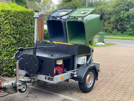 Our Bin Cleaning Machine