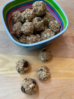 No-Bake Protein Poppers