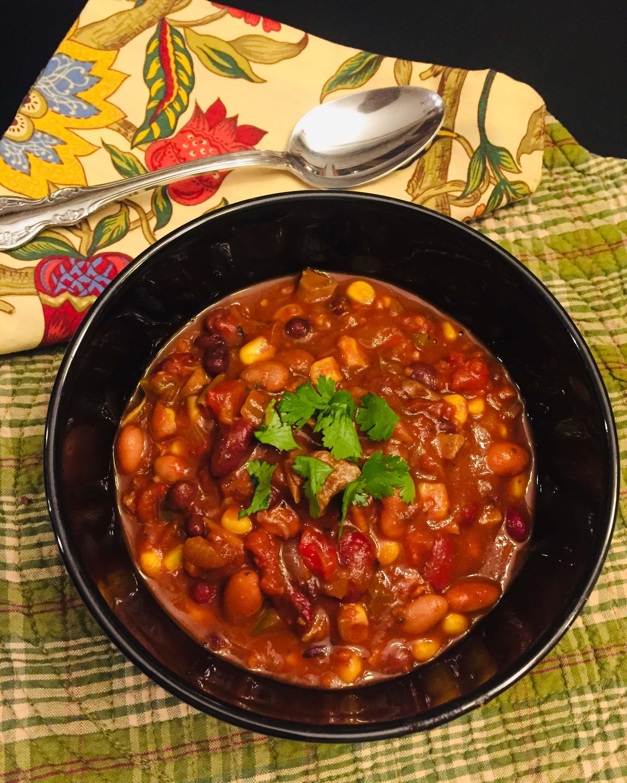 3-Bean Vegetarian Chili