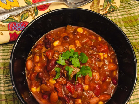3-Bean Vegetarian Chili