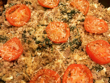 Greek Turkey Skillet with Quinoa