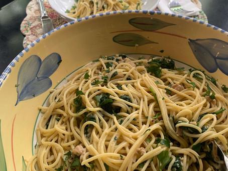 Linguini and Clams