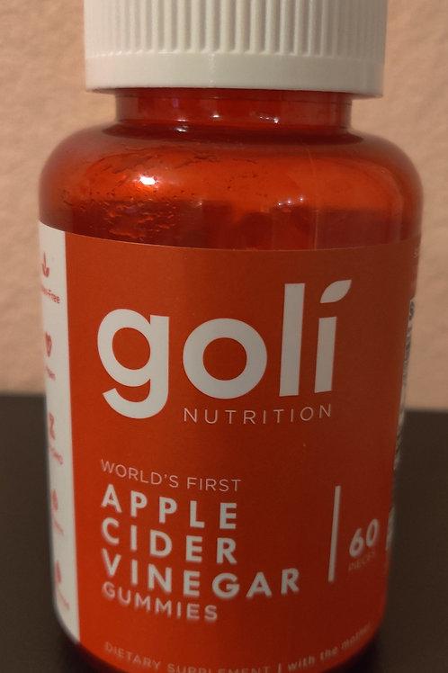 Goli Apple Cider Vinegar Gummies (Must Order Online)
