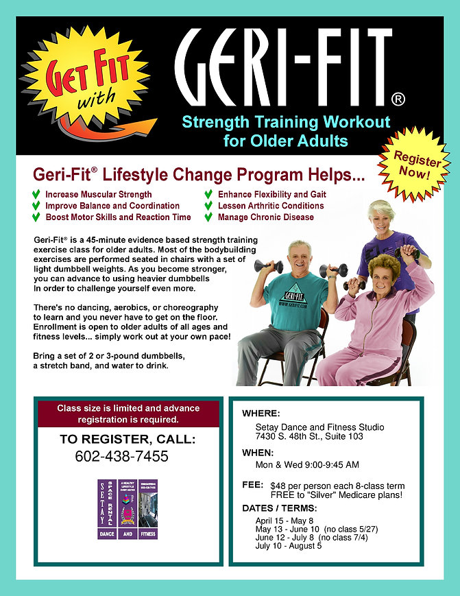 Geri-FIT Strength Training Workout