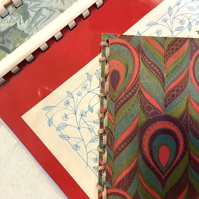 Atelier création papier avec Michelle du vendredi