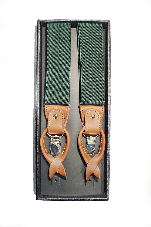Olive Green Suspenders