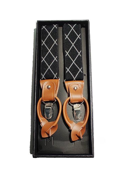 Black & White Suspender