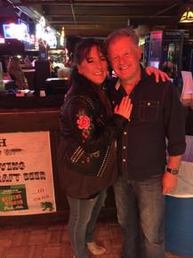 Sarah Jory at Billy Bobs