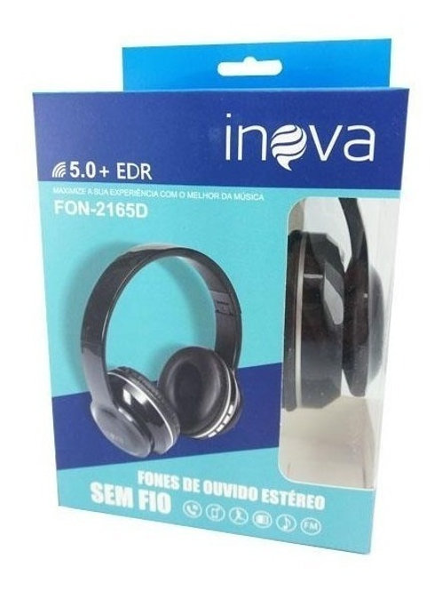 headphone bluetooth sem fio Inova