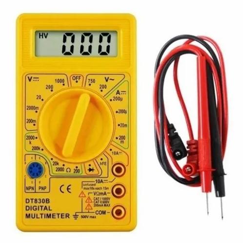 Multímetro Digital Dt-830b Portátil Profissional + Bateria