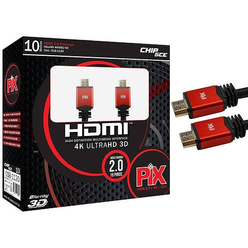 Cabo HDMI 10 metros  4K
