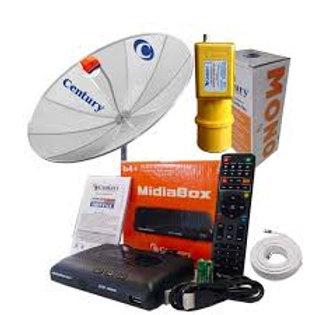 Receptor Midiabox B4+ Century Hd Digital