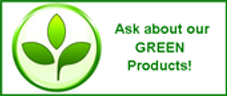 ecofriendly green products from our Hamilton cleaning service