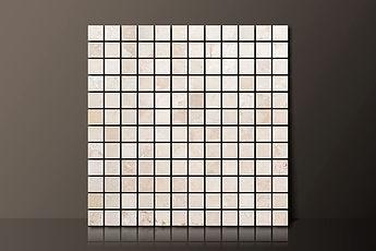classic beige filled travertine mosaic