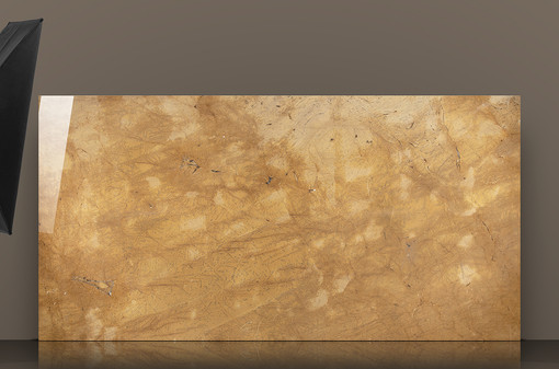 triana-yellow-polished-marble-slab-refle