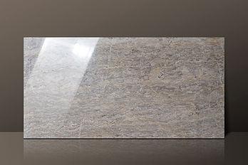 Savannah Light Grey Vein-Cut Polished Marble Tile