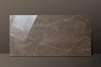 Olive Marone Polished Marble Tile