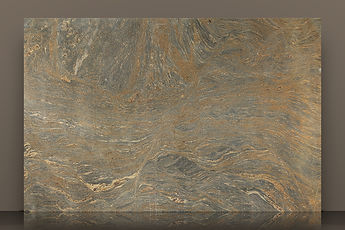 Brown Waves Polished Granite Slab