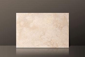 Classic Cream Travertine Cross-Cut Filled Tile