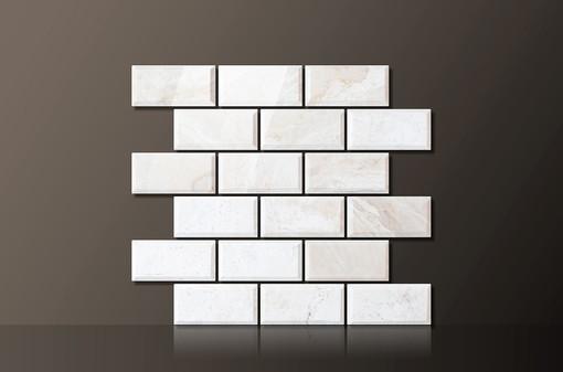 ivory-polished-marble-beveled-mosaic48