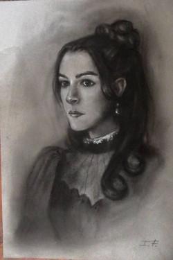 Retrato Magda