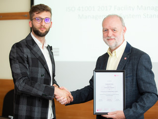Stan Mitchell Honorowym Członkiem Polskiej Rady Facility Management!