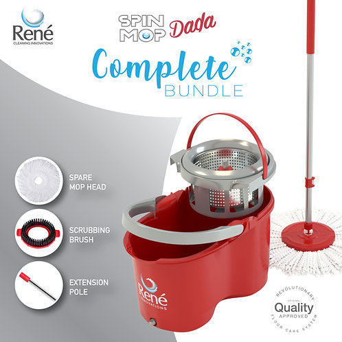 Spin Mop Dada Complete Bundle Set