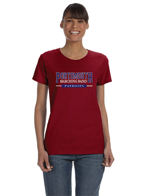 PHS MARCHING BAND LADIES' T-SHIRT