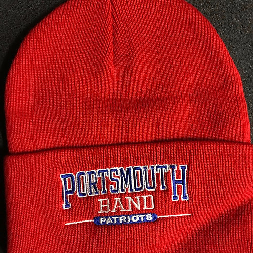 KNIT RED PHS HAT