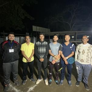 Winners: Badminton Doubles