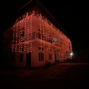 Campus during Diwali