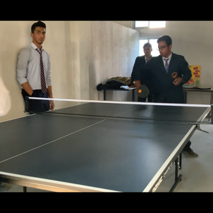 Table Tennis at Break