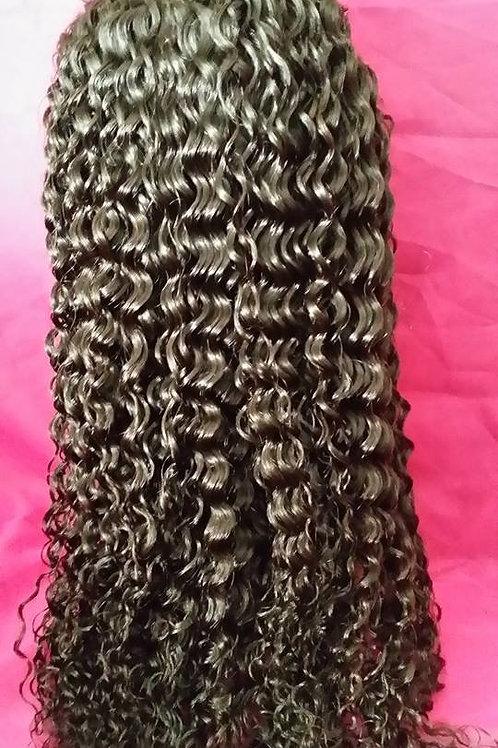 Brazilian spanish wave full lace wig