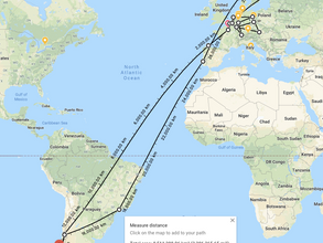 January: Total distance: 33,971.76 km (21,109.07 mi)
