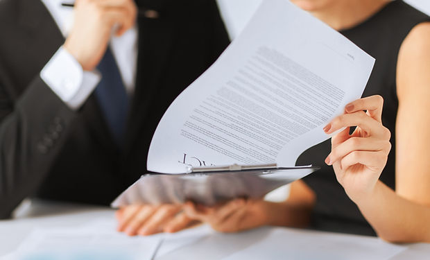 Contract Paper Signing