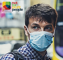 Man wearing face mask. Click here to access the resources.