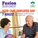 Cover of Fusion magazine, click here to access the article