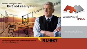 A conversation could change a life. September 14th is RU OK? Day. For more information visit https://www.ruok.org.au/