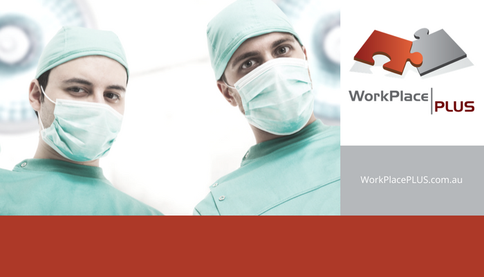 What can health service providers do to promote a workplace culture free from sexual harassment? For assistance, please contact WorkPlacePLUS.