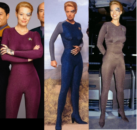 Star Trek Voyager 7 Of 9 Uniform Star Trek Costumes The Apocalypse Project Costumes