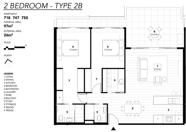 2 BEDROOM - TYPE 2B.png