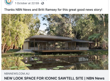 NEW LOOK SPACE FOR ICONIC SAWTELL SITE
